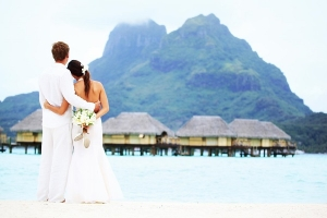 Tahiti Journey destination wedding in Bora Bora